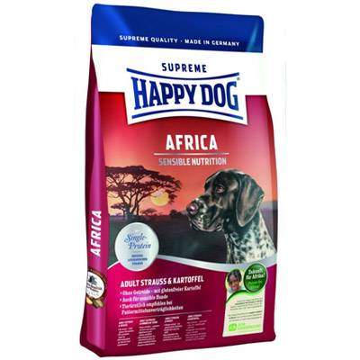 корм для собак happy dog supreme sensible nutrition africa