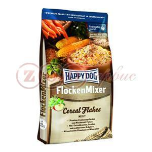 HAPPY DOG Flocken Mixer хлопья для собак для смешивания с мясом  10кг