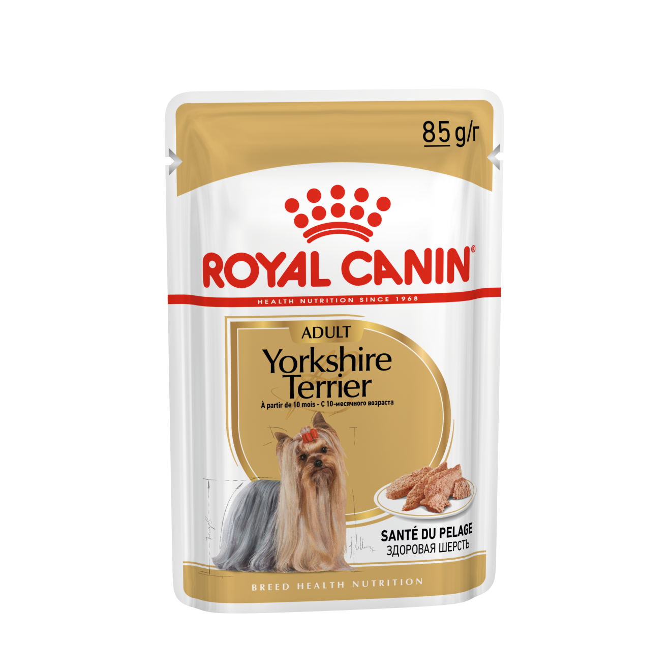 ROYAL CANIN Yorkshire Terrier - консервы для собак - Йоркширский Терьер, паштет, в/у 85г