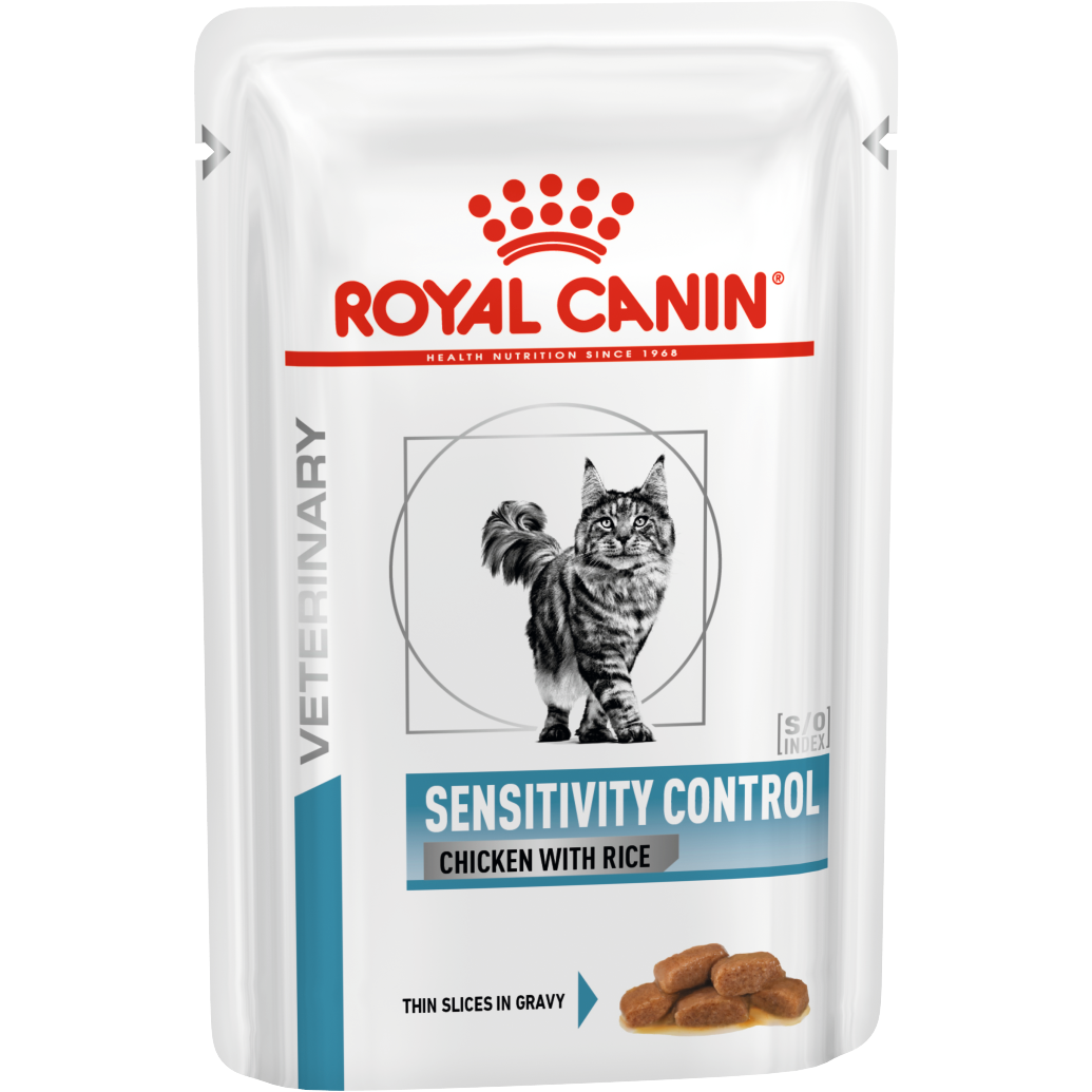 ROYAL CANIN Sensitivity Control Feline консервы для кошек при пищевой аллергии в/у 100г