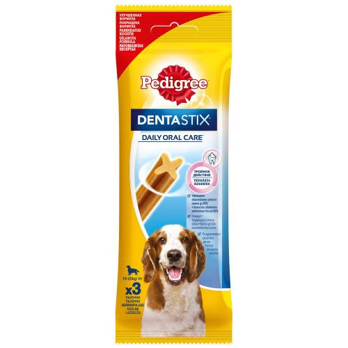 Pedigree DentaStix Лакомство для собак 3шт 77г